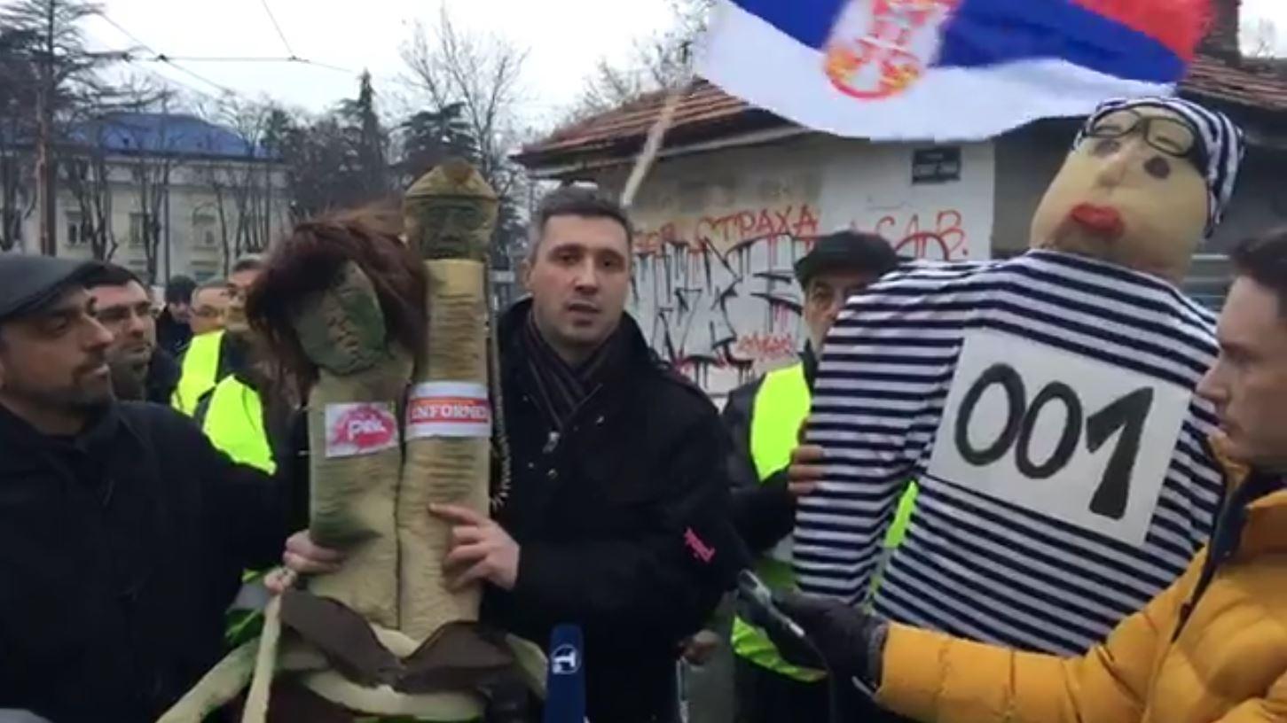 Boško Obradović: Zašto sam šetao Stazama Vučićevih laži