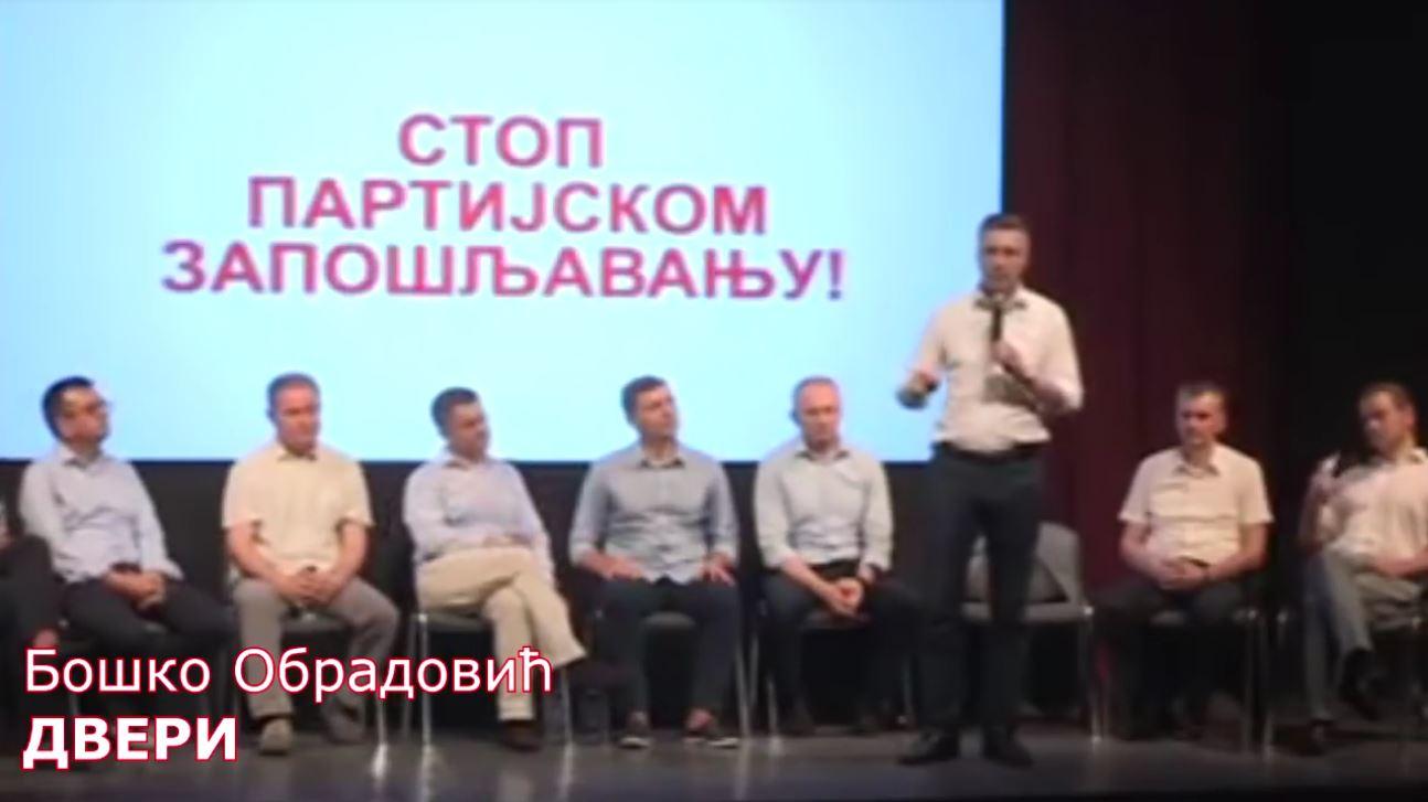 Boško Obradović: Danas ćemo obeležiti sedam godina kako Vučić nije izašao niti na jedan direktan TV duel