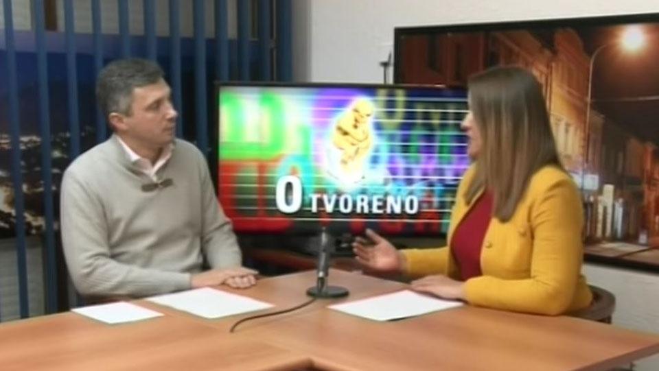 """Boško Obradović, TV Golija, emisija """"Otvoreno"""""""