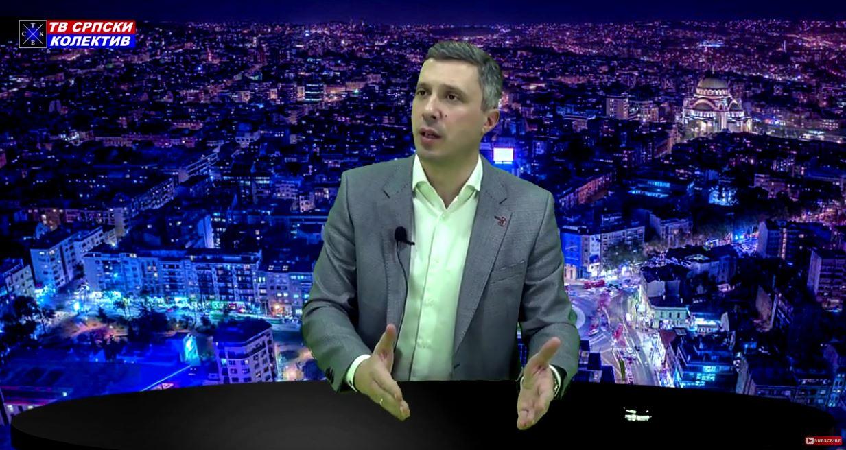 """Boško Obradović: """"Krećemo na Dedinje, bolesnom Vučiću se bliži kraj""""! Emisija Autoritet"""
