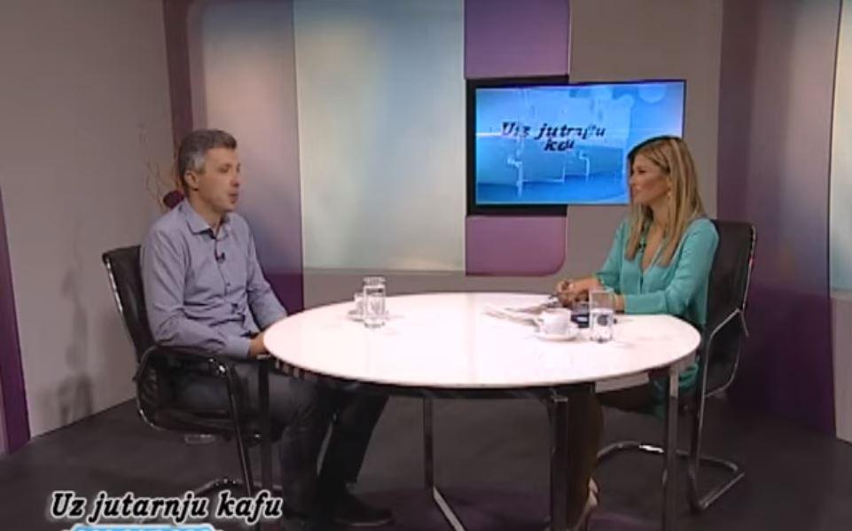 Boško Obradović, TV Naša, Uz jutarnju kafu, 22.07.2019.