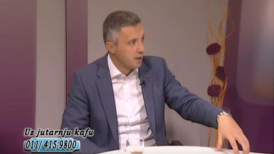 Boško Obradović, TV Naša, Uz jutarnju kafu, 16.09.2019.
