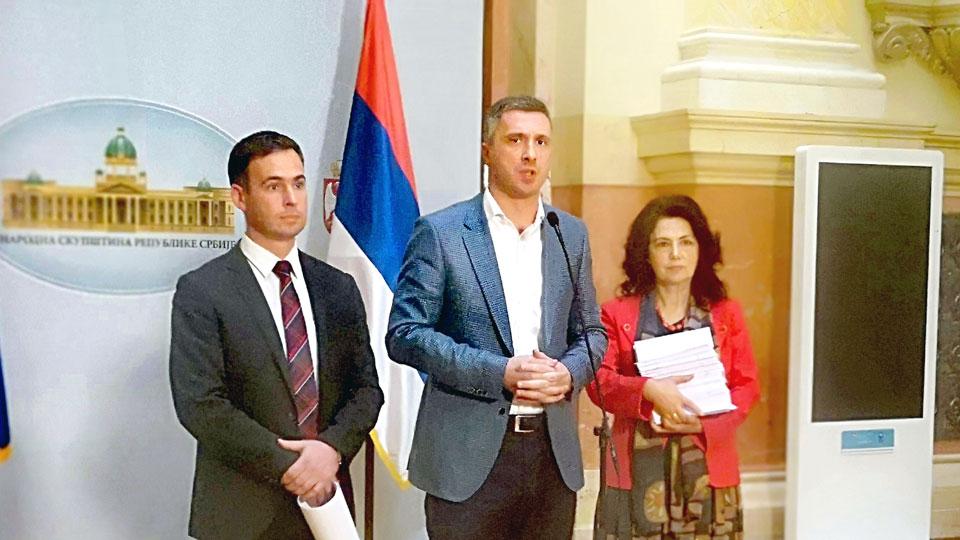 Predlog zakona o budžetu mora da bude jedina tačka dnevnog reda Skupštine Srbije