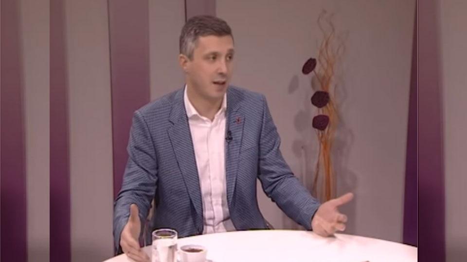 Boško Obradović, TV Naša, Uz jutarnju kafu, 15. januar 2019.