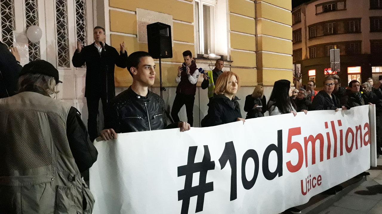 Obradović iz Užica poručio Željku Mitroviću: Nema promena dok se ne ugasi Pink