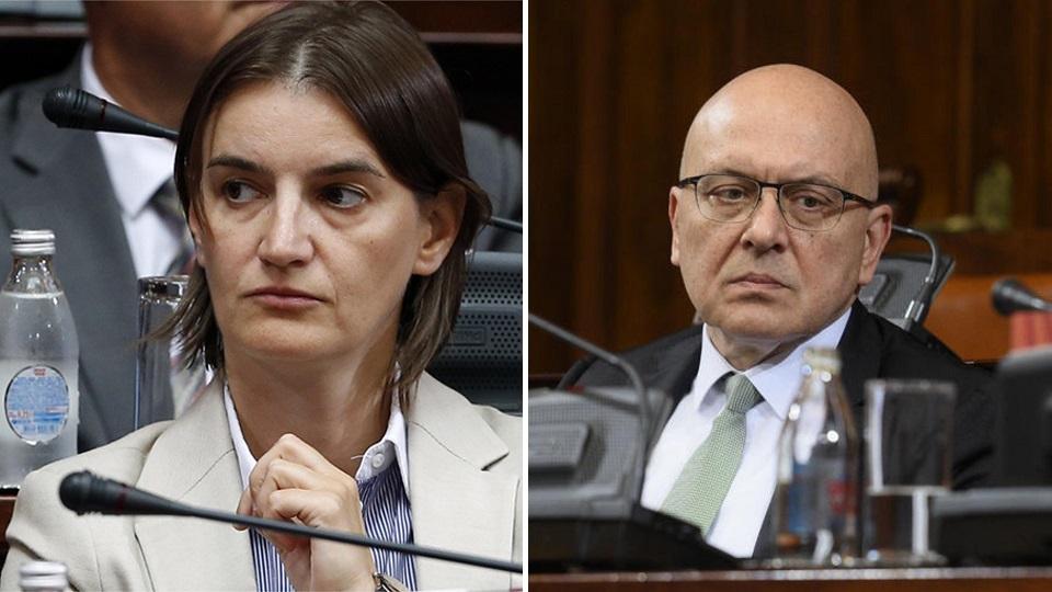 Ana Brnabić na strani Mitrovića umesto na strani zaštite kulture