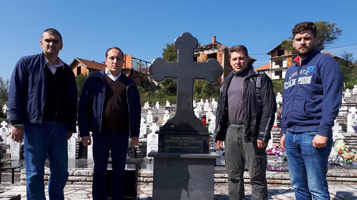 Delegacija Srpskog pokreta Dveri  u Bratuncu i Srebrenici