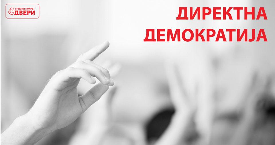 Direktnom demokratijom protiv bahate vlasti