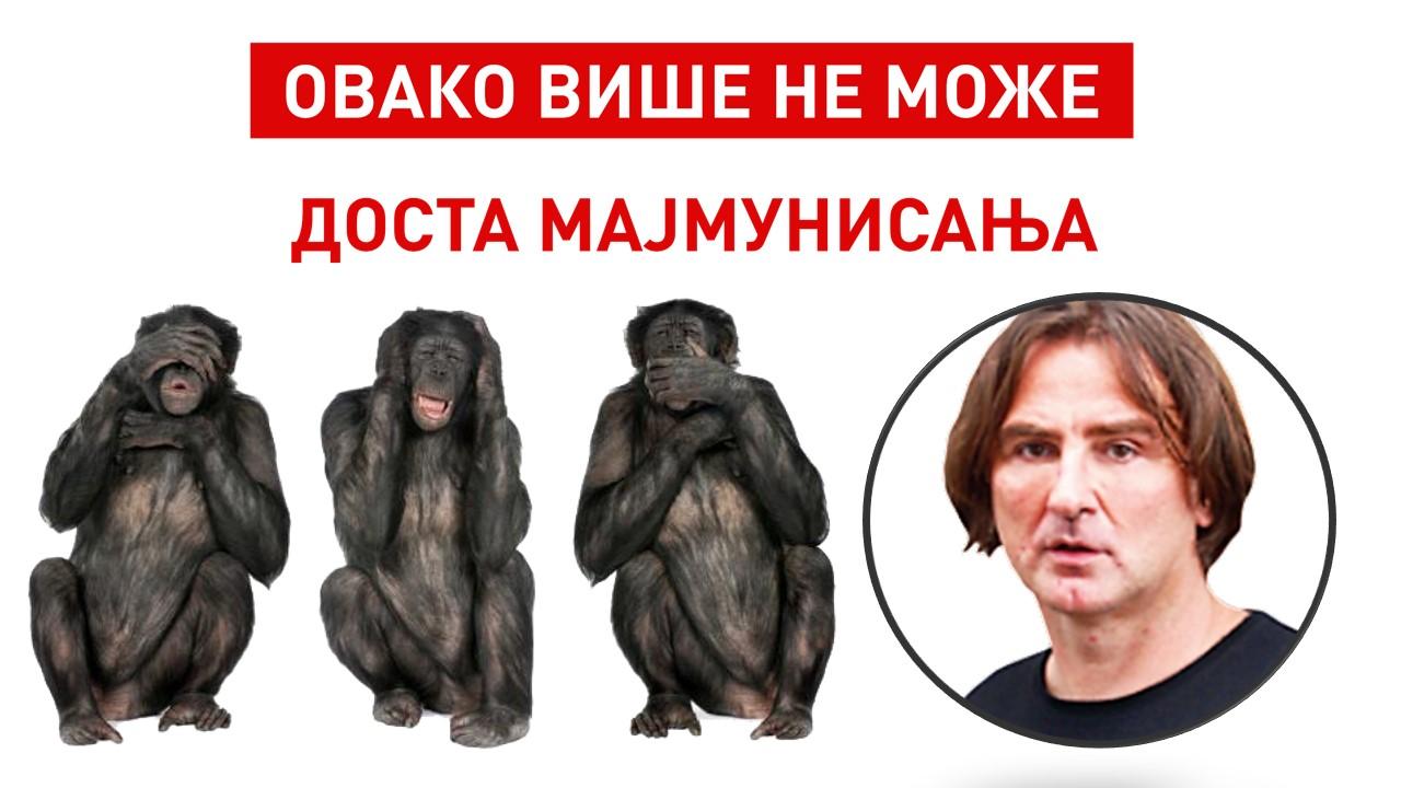 Otvoreno pismo Ženske snage Dveri Željku Mitroviću