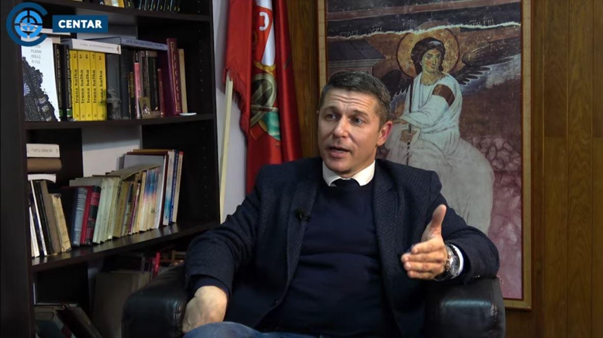 Dr Predrag Mitrović u Centru: Srbija uvela sankcije Rusiji