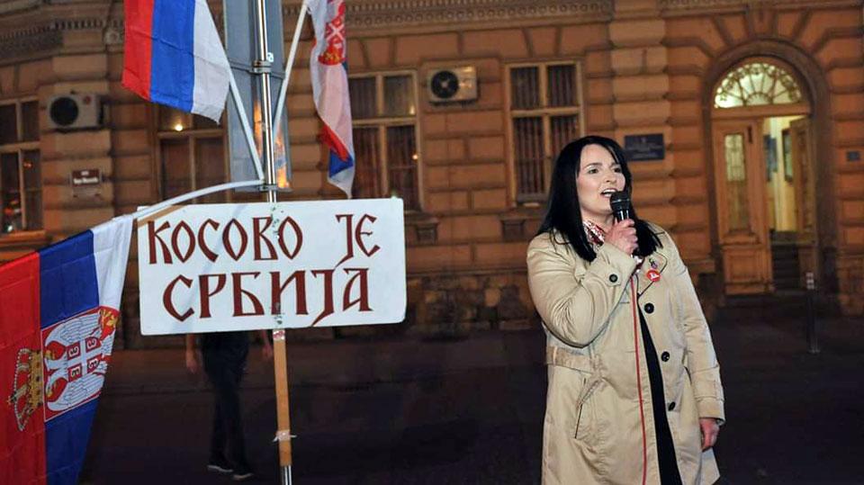 Dragana Milićević u Sremskoj Mitrovici: Živela Srbija bogatog seljaka