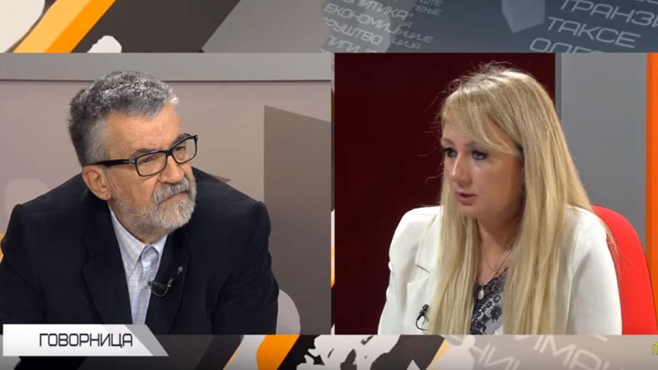 "Dragana Trifković gost ""Govornice"""