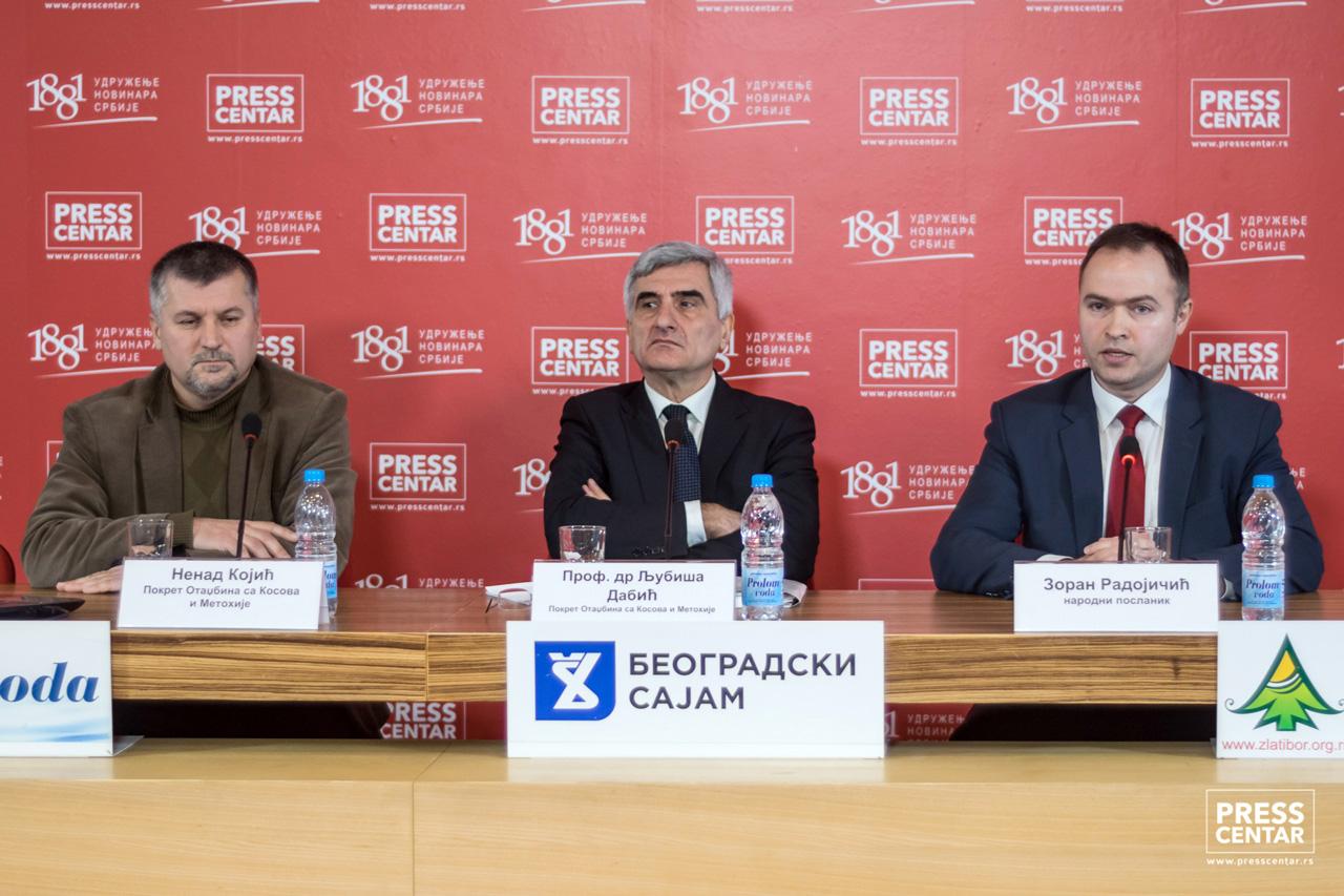 Srpski pokret Dveri: Kosovo nije samo pitanje identiteta, već i ekonomskih interesa i prava na svojinu države Srbije