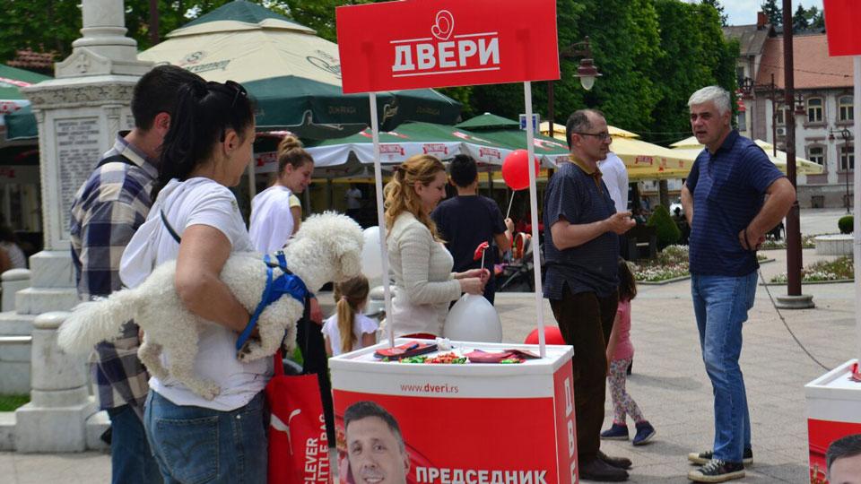 Dveri Aranđelovac: Vlast nastavlja sa represijom
