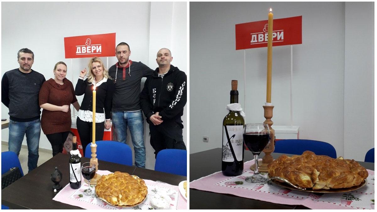 Dveri Inđija: Proslava 20 godina Dveri i predstavljanje novog predsednika odbora
