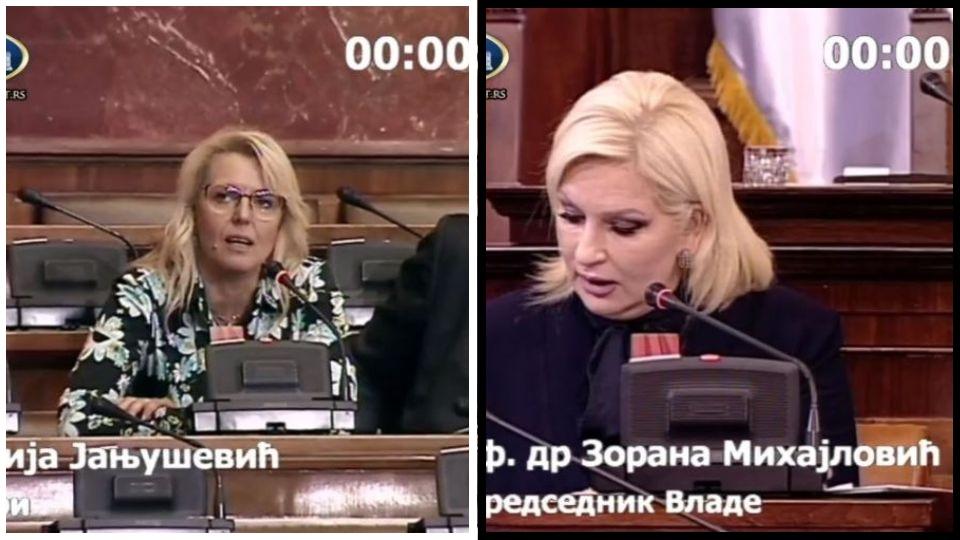 Marija Janjušević odgovorila Zorani Mihajlović: Izjasnite se da li je KiM deo Srbije