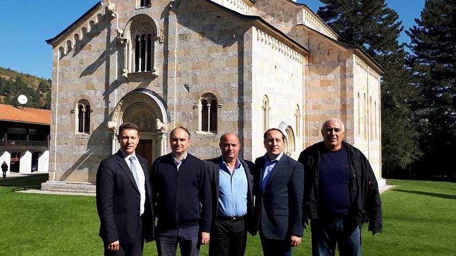 Delegacija Dveri na Kosovu i Metohiji