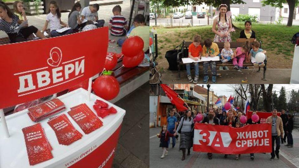 Dveri nastavljaju sa obeležavanjem Nedelje porodice širom Srbije