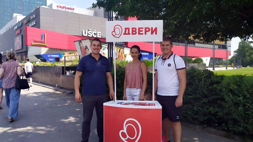 Dveri Novi Beograd: Građani pozitivno reaguju na Dveri