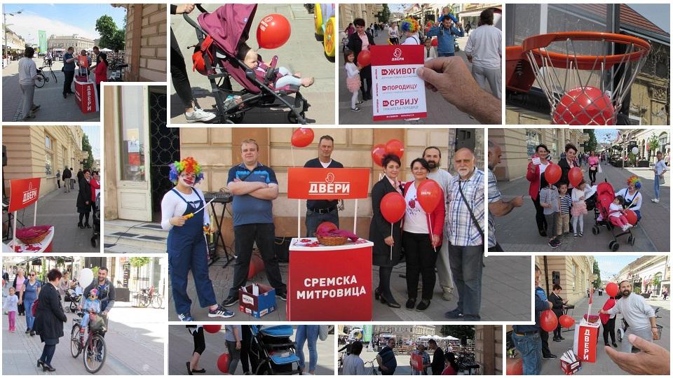 U Sremskoj Mitrovici obeležena nedelja porodice