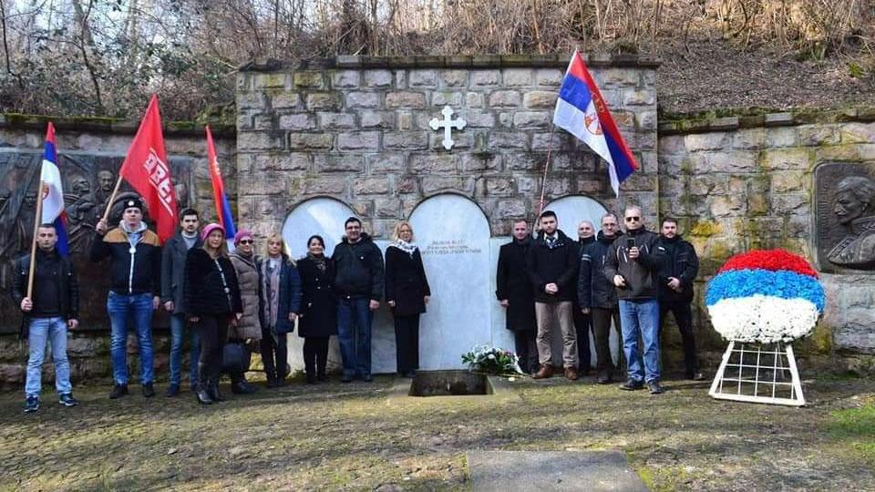 Delegacija Dveri obeležila Dan državnosti u Orašcu