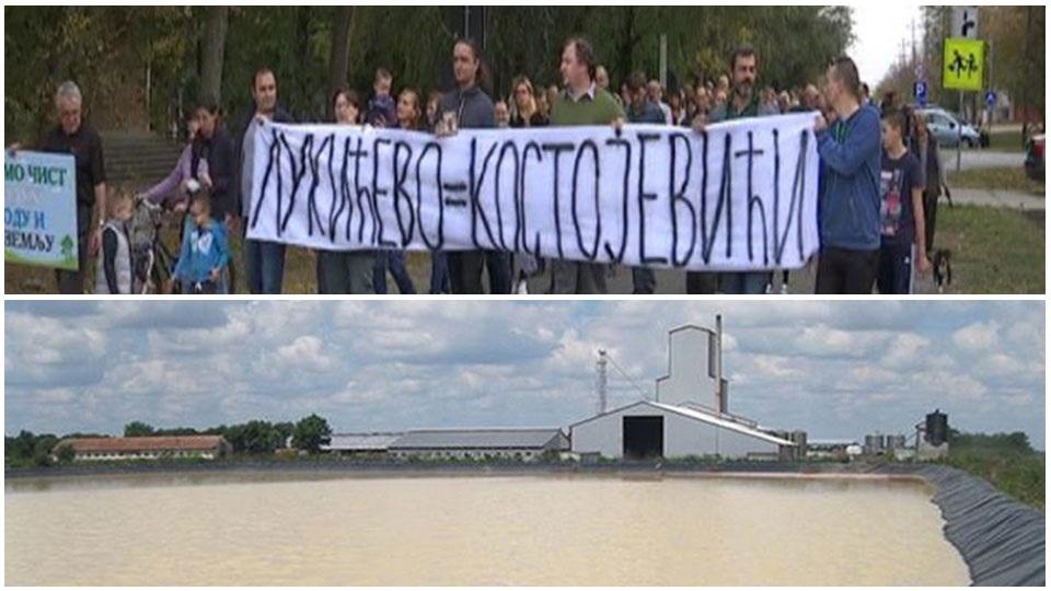Dveri Zrenjanin: Podrška građanima Lukićeva