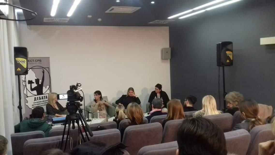 Gordana Marinković Savović na debati o ženama i društvenim promenama