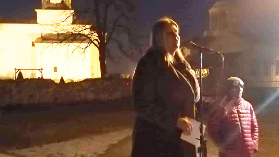 Gordana Marinković Savović u Arilju: Vreme je da ustanemo protiv svih Jutki i Labana