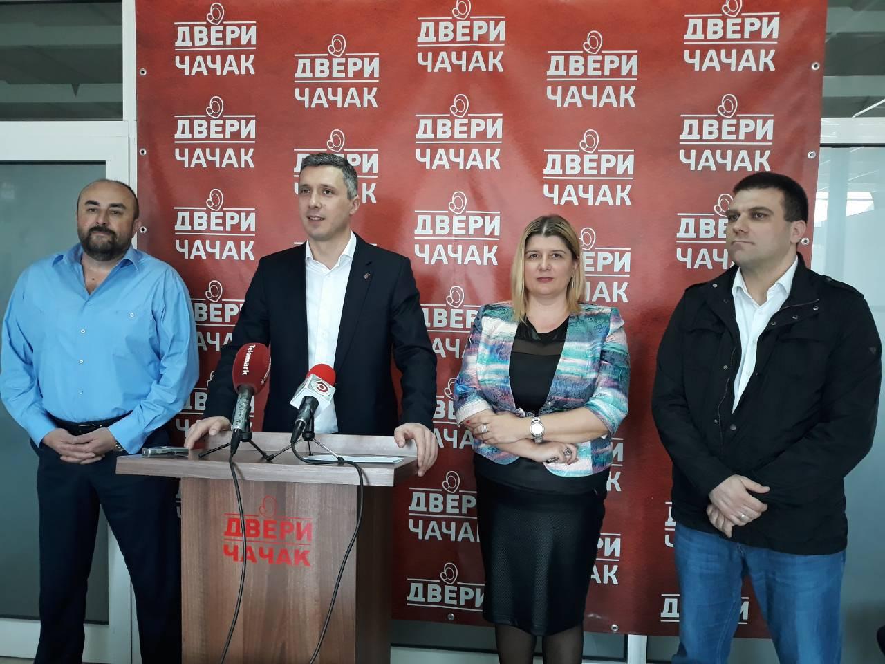 Predstavljeni novi članovi Predsedništva Dveri iz zapadne Srbije