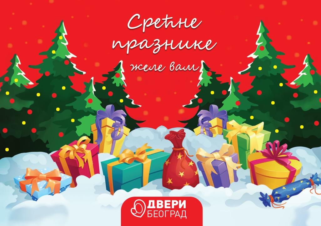 Dveri čestitale  Beograđanima Badnji dan i Božić
