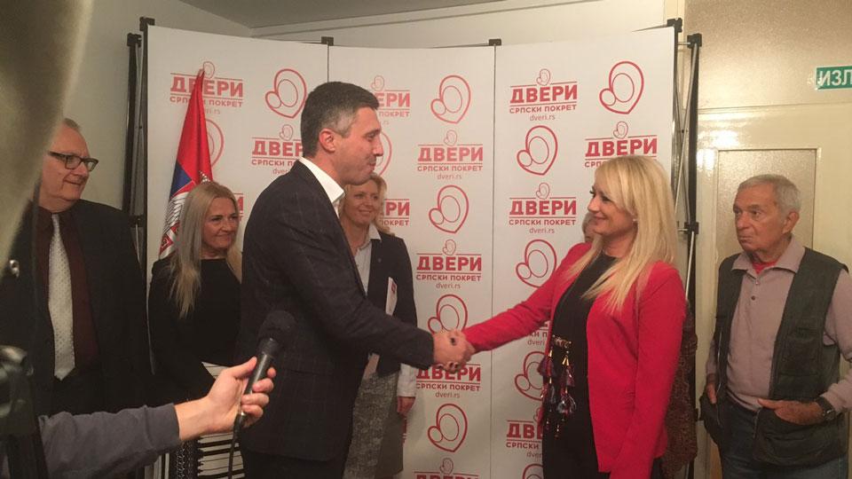 Dragana Trifković i Narodni pokret pristupili Srpskom pokretu Dveri