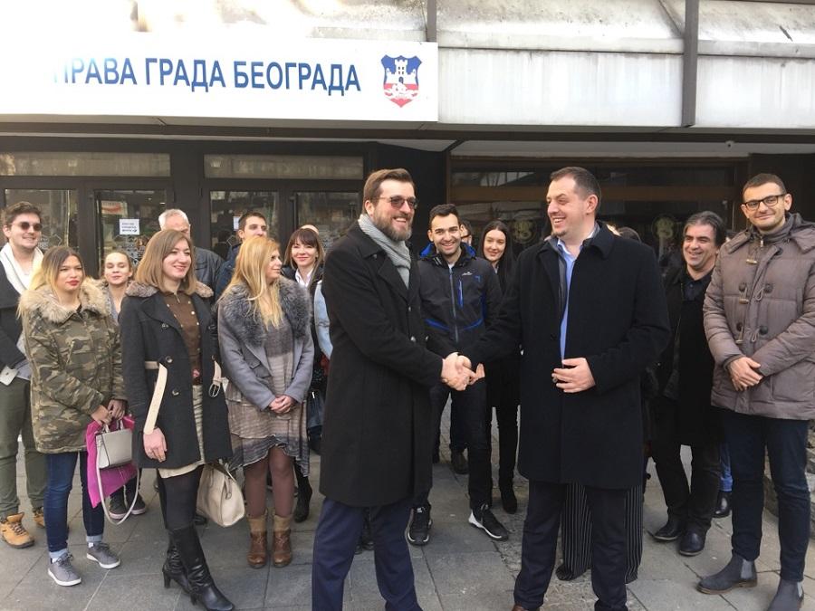Dveri i Dosta je bilo predali listu za izbore u Beogradu
