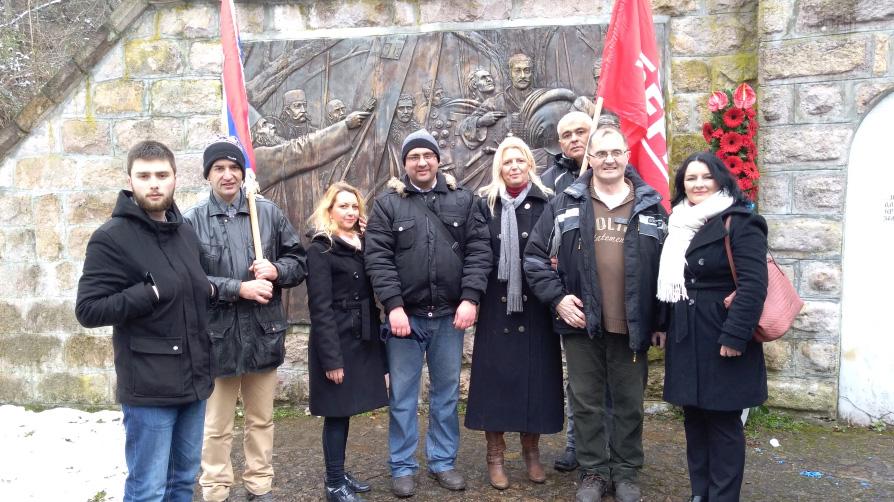 Dveri na obeležavanju Dana državnosti u Orašcu