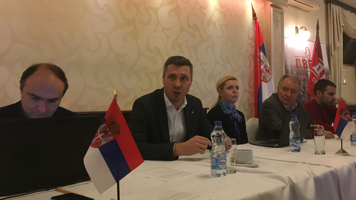 Glavni Odbor Dveri: Potvrđeni glavni politički ciljevi Dveri za 2018. godinu