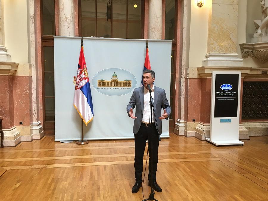 Obradović: Dveri nisu opozicija Srbiji i državi, Dveri su opozicija Vladi