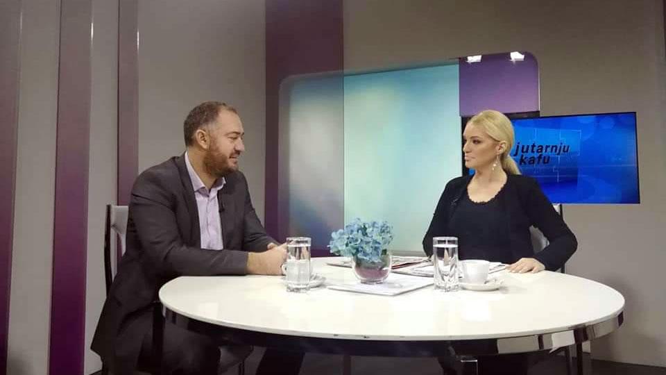 """Mr Ivan Kostić, TV Naša, """"Uz jutarnju kafu"""", 30. novembar 2018."""