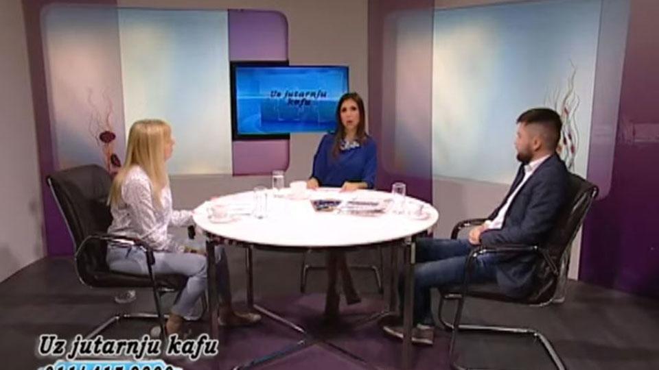 Ivana Stojanović i Stefan Aksović - Uz jutarnju kafu (20.05.2019.)