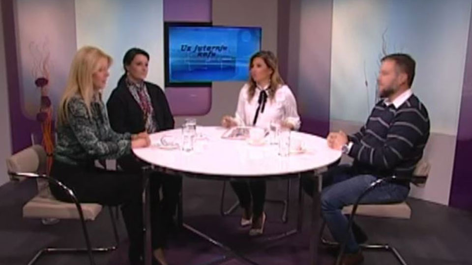 """Miletić, Milićević i Janjušević: Emisija """"Uz jutarnju kafu"""", 28.02.2019."""