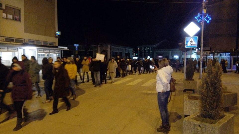 Protesti u Kuršumliji i ovog četvrtka