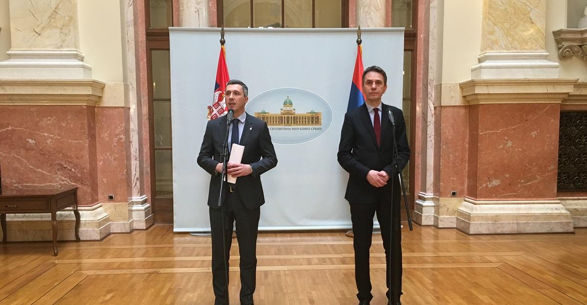 Boško Obradović i Saša Radulović: Vlast opstruiše rad Narodne skupštine