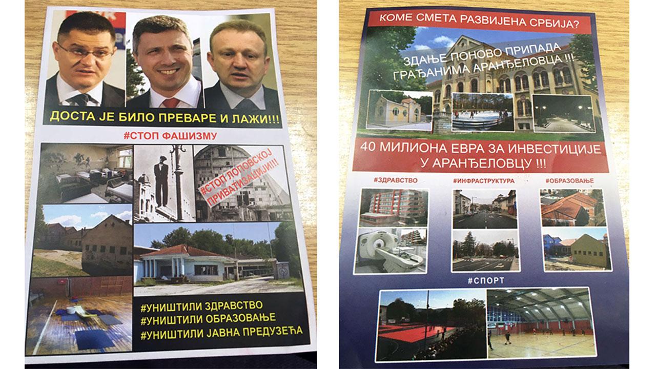 Dveri Aranđelovac: Bojane Radoviću, ne budi politička kukavica!