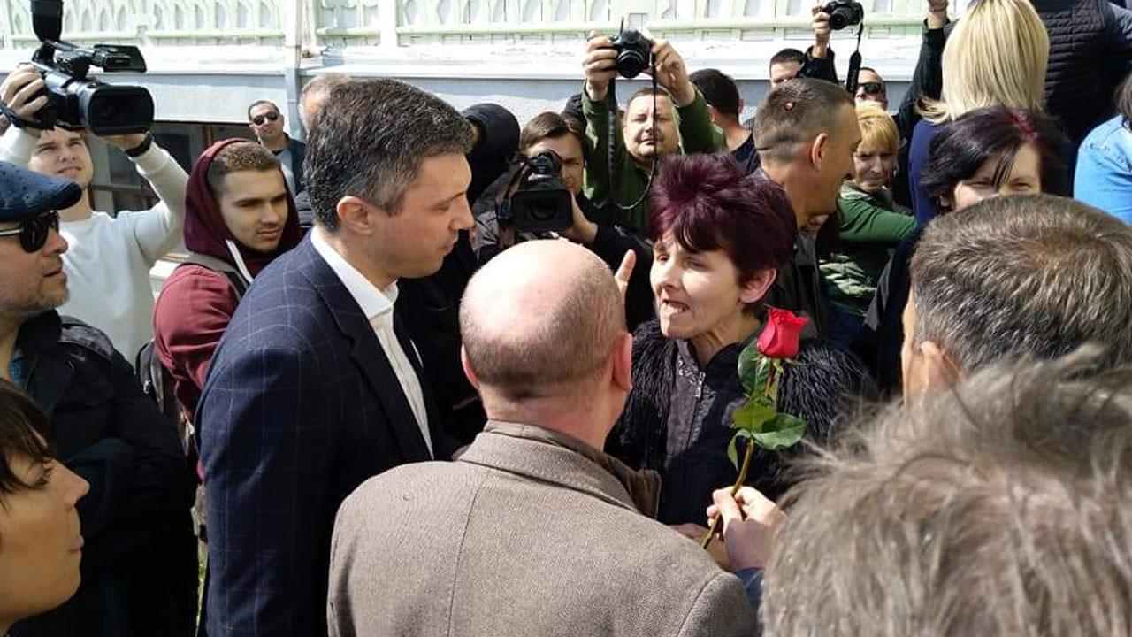 Lideri SZS posetili Brus i prisustvovali smenjivanju Jutke