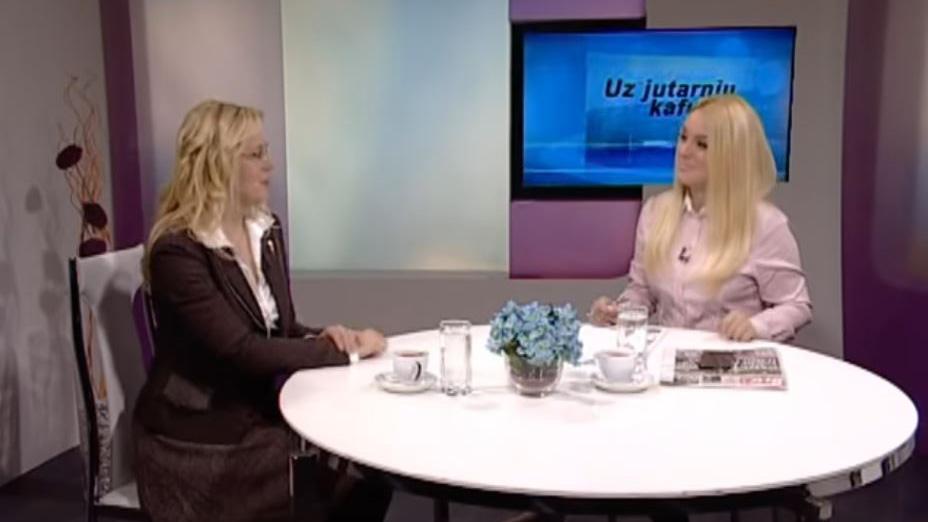 "Marija Janjušević, TV Naša, ""Uz jutarnju kafu"", 06. dec. 2018."