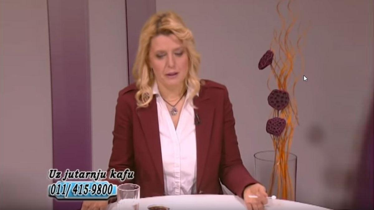 """Marija Janjušević, TV Naša, """"Uz jutarnju kafu"""", 01. feb. 2019."""