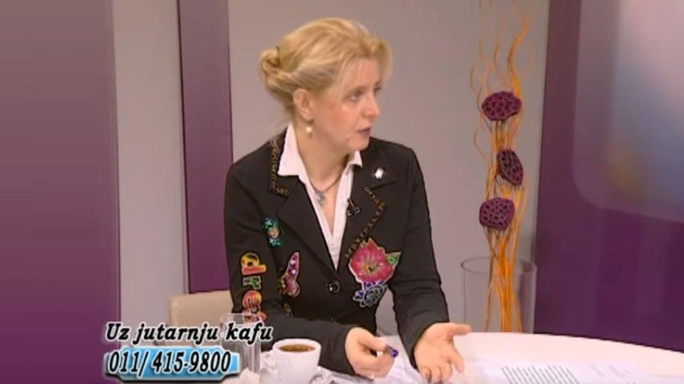 """Marija Janjušević, TV Naša, """"Uz jutarnju kafu"""", 21. feb. 2019."""