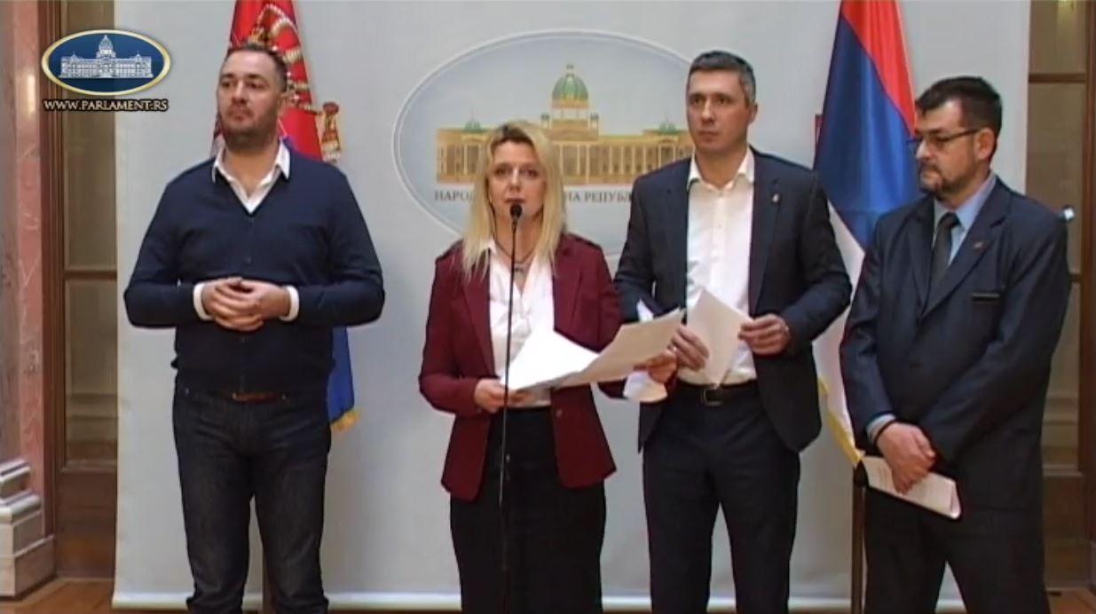 Marija Janjušević: Poslanici opozicije bojkotuju Parlament, ali ne i svoje građane