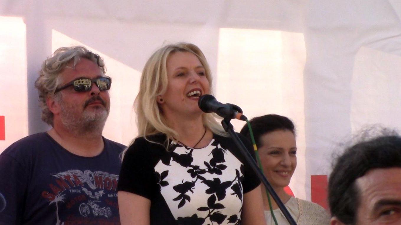 Marija Janjušević u Novom Sadu