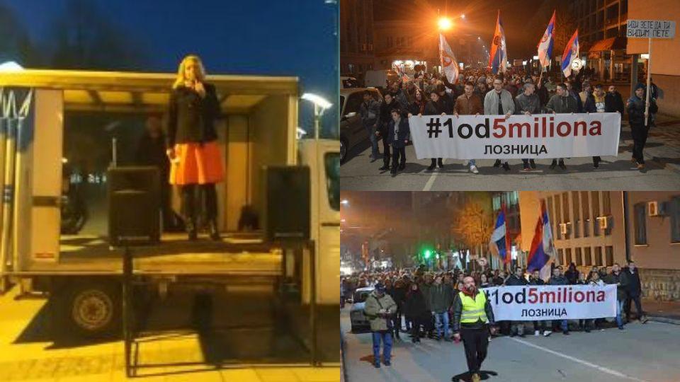 Janjušević u Loznici: Svaki neprijatelj Srbije, Vučiću je prijatelj, ali nama nije