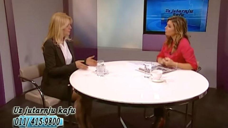 "Marija Janjušević, TV Naša, ""Uz jutarnju kafu"", 05. april 2019."