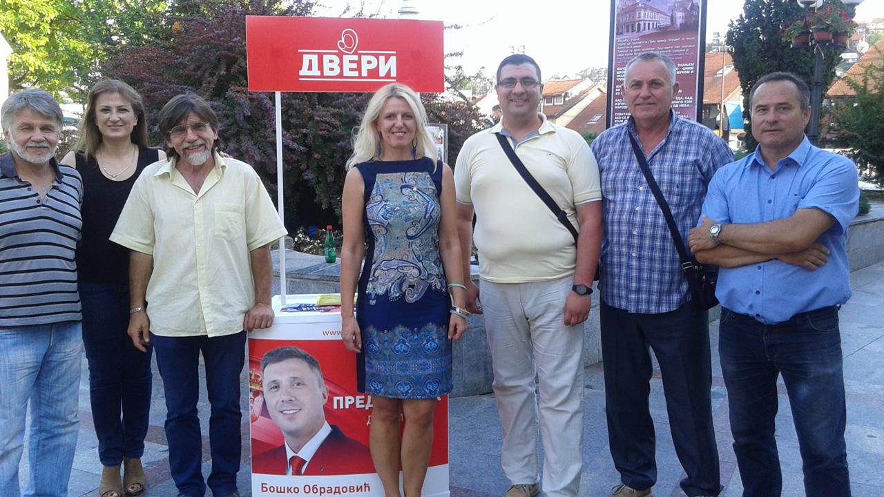 Marija Janjušević posetila Valjevo
